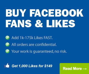 Buy Facebook Fans & Likes